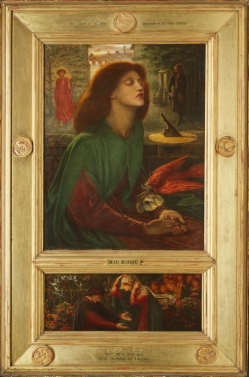 Beata Beatrix, 1871?72��Dante Gabriel Rossetti��The Art Institute of Chicago