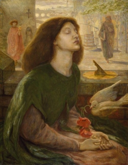 Beata Beatrix��Dante Gabriel Rossetti��Birmingham Museums and Art Gallery