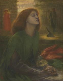 Beata Beatrix  circa 1864-70 Dante Gabriel Rossetti  Tate