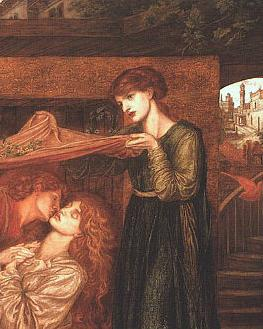 Dantes Dream at the Time of the Death of Beatrice(detail)