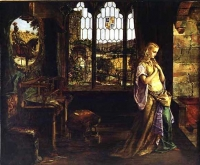 ウィリアム・モー イグレイ William Mau Egley, The Lady of Shalott 1858