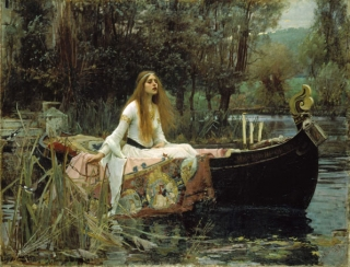 John William Waterhouse, Rome 1849 - London 1917, The Lady of Shalott, 1888, Oil on canvas, Tate, London, Gift of Sir Henry Tate, 1894, Photo © Tate, London 2009