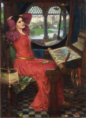 the Lady of Shalott 1916年 Art Gallery of Ontario