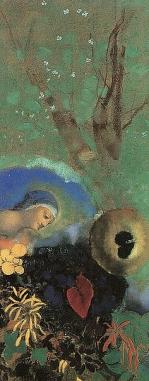 Homage to Leonardo da Vinci - (Odilon Redon - 1908) Stedelijk Museum (Netherlands) オランダ 市立美術館