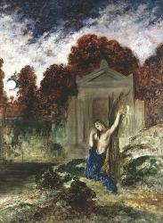 Orphée sur la tombe d'Eurydice