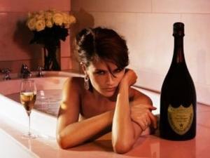 Helena Christensen Dom Pérignon Vintage 1998