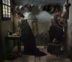 Madame Figaro Les costumes  by Eugenio Recuenco