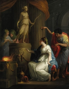 Angelica Kauffman, R.A. Accontius and Cydippe