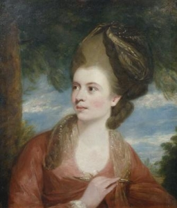 Portrait of Angelica Kauffmann, RA (1741-1807) by Daniel Gardner 1773