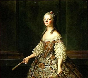 NATTIER Jean Marc (daprès) MARIE-ADELAIDE DE FRANCE, DITE MADAME ADELAIDE (1732-1799) Versailles ; musée national des châteaux de Versailles et de Trianon