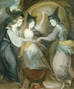 DANIEL GARDNER Three Witches Macbeth Shakepeare