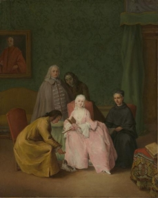 The Visit 1746 Pietro Longhi (Pietro Falca) The Metropolitan Museum of Art.