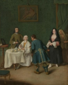 The Temptation 1746  Pietro Longhi (Pietro Falca) The Metropolitan Museum