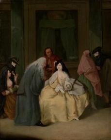 The Meeting 1746 Pietro Longhi (Pietro Falca) The Metropolitan Museum of Art.