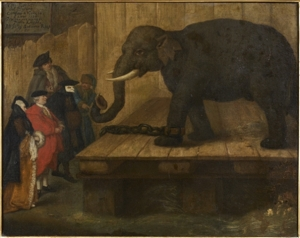 LEléphant 1774 -Pietro Longhi  auction houses