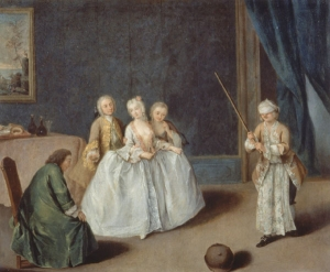 Pietro Longhi The pot game ca. 1760 Gallerie di Palazzo Leoni Montanari