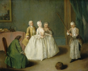 Pietro Longhi The Game of the Cooking Pot, c. 1744 National Gallery of Art, Washington, DC Samuel H. Kress Collection