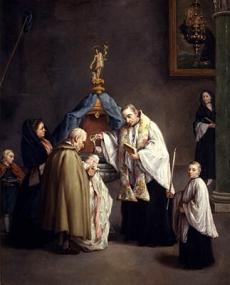 Il Battesimo-1755-57 Pietro Longhi Querini Stampalia Foundation Museum