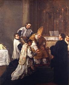 LOrdine sacro 1755-57 Pietro Longhi Querini Stampalia Foundation Museum