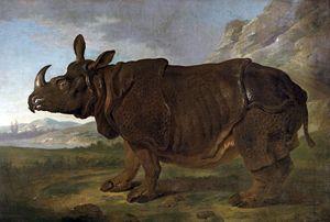 Landschaft gemalt von Jean Baptiste Oudry, 1749 Staatliches Museum Schwerin