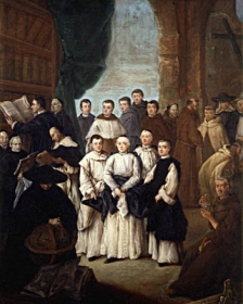 La frateria di Venezia - 1761 Pietro Longhi Querini Stampalia Foundation Museum