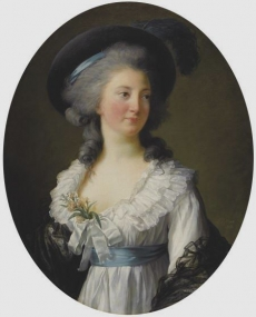 Madame Royale at about the age of twelve