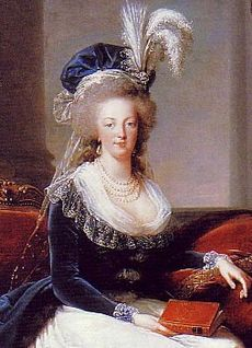 Another state portrait of Marie Antoinette, by Élisabeth Vigée-Lebrun (1788)