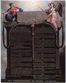 Déclaration des droits de lhomme et du citoyen de 1789