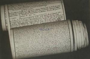 Manuscrit original des 120 journées de Sodome de Sade
