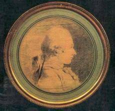 Retrato do Marqués de Sade por Charles-Amédée-Philippe vão Loo (c. 1761)