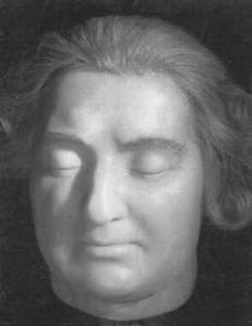 Louis XVI  Death Mask by Madame Tussuad