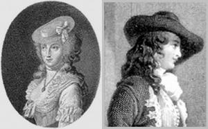Sophie dHoudetot et Madame dEpinay à lErmitage