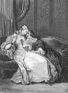 Claire console Julie (La Nouvelle Heloise, OC Furne 1837 fig3) - Deveria