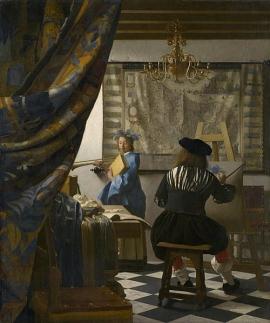 Kunsthistorisches Museum, Wien: Ausstellung Vermeer. Die Malkunst