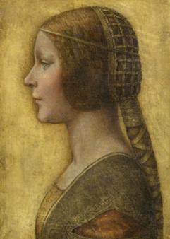 Ritratto di una Sforza Leonardo da Vinci? Collezione privata