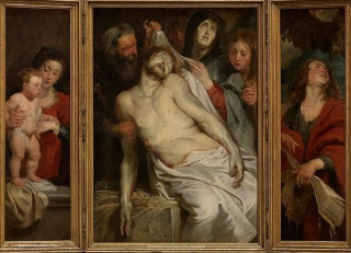 Lamentation of Christ 1616-17