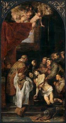Laatste communie van de heilige Franciscus van Assisi