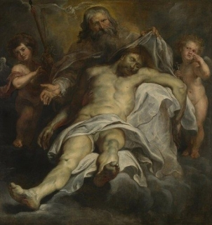 Peter Paul Rubens, Heilige Drievuldigheid (La Sainte Trinité, The Holy Trinity), 1620