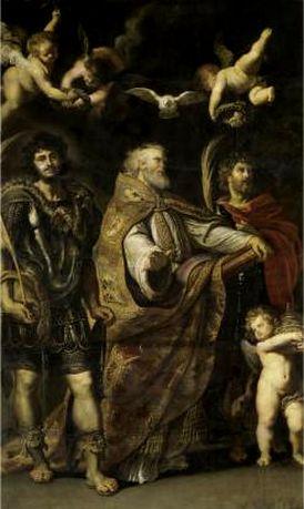 St. Gregorius, Mauro, and Papiano Peter Paul Rubens