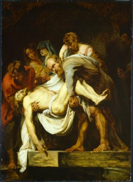 Peter Paul Rubens (after Michelangelo Merisi da Caravaggio) -The Entombment