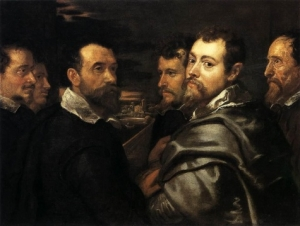 Self-Portrait in a Circle of Friends from Mantua Wallraf-Richartz Museum