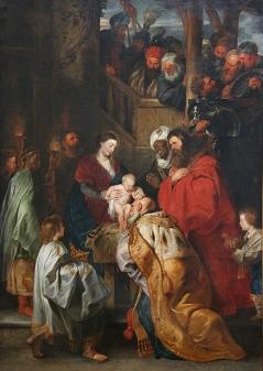 LAdoration des Mages - Rubens - Musees royaux des Beaux-Arts de Belgique