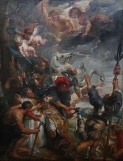 Musees royaux des Beaux-Arts de Belgique-Le martyre de saint Lievain