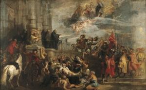 Les miracles de St Benoit   Rubens