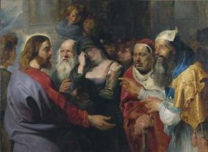 Rubens-Le Christ et la femme adultère
