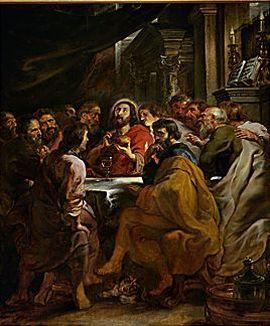 Last Supper, 1630-1632 Pinacoteca di Brera, Milano, Italy