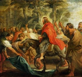 Christs entry into Jerusalem, 1632 Musee des Beaux-Arts, Dijon, France