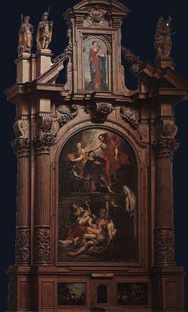 St Roch Altarpiece St Maartenskerk (Aalst, Netherlands)