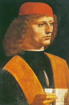 Galeazzo da Sanseverino. Gemälde von Leonardo da Vinci)