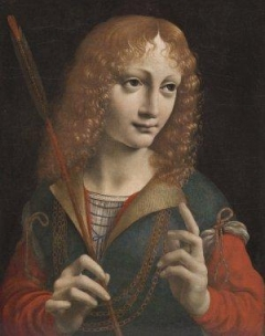 Portrait of Gian Galeazzo Maria Sforza by Leonardo da Vinci in 1483